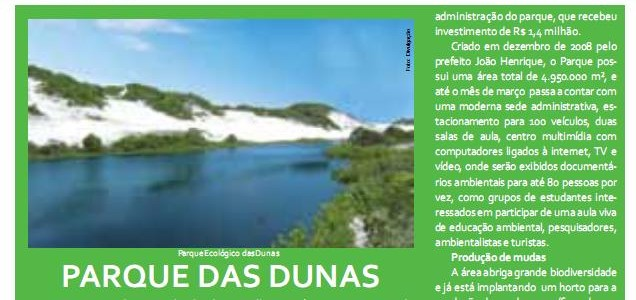 "Business Salvador: ""Ecobusiness PARQUE DAS DUNAS"""